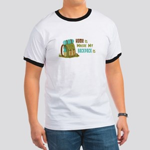 Home is Where My Backpack is T-Shirt