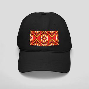 Native American Design Fire Baseball Hat
