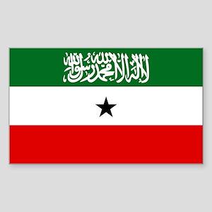 Somaliland Flag Sticker (Rectangle)
