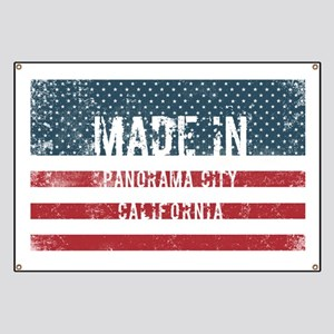 Made in Panorama City, California Banner