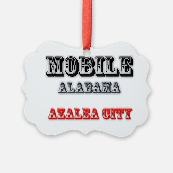 Mobile Alabama Azalea City 2 Ornament