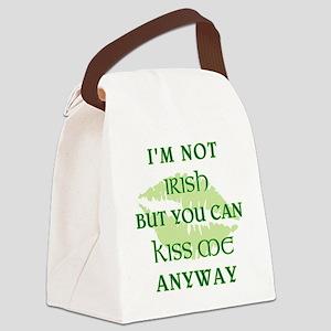 I'M NOT IRISH... Canvas Lunch Bag