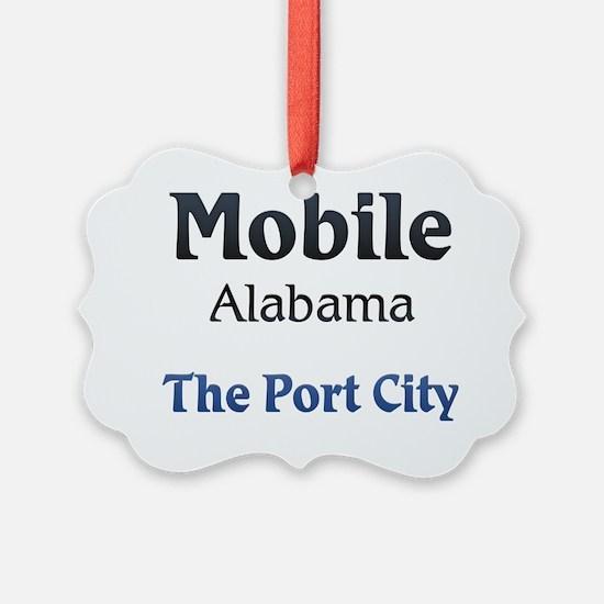 Mobile, Alabama - The Port City Ornament