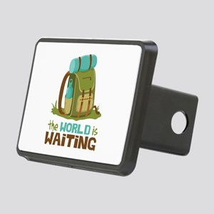 The World is Waiting Hitch Cover