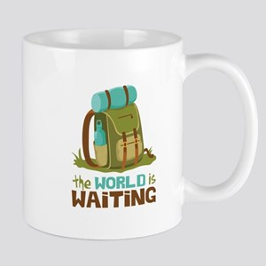The World is Waiting Mugs