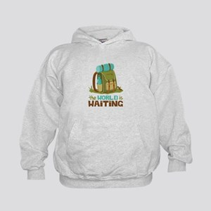 The World is Waiting Hoodie