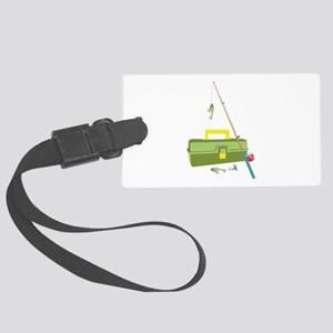 Fish Tackle Luggage Tag