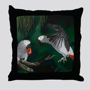 Greys in the Wild Throw Pillow