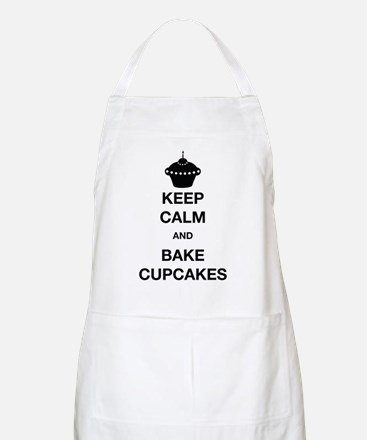 Keep Calm and Bake Cupcakes Apron