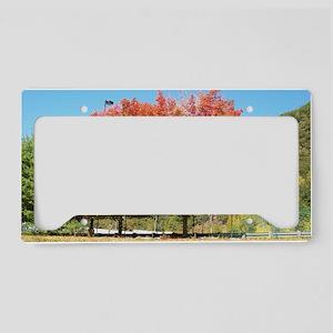 BURNING TREE License Plate Holder