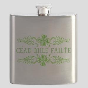 CEAD MILE FAILTE Flask
