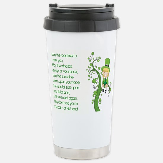 MAY THE ROAD Stainless Steel Travel Mug