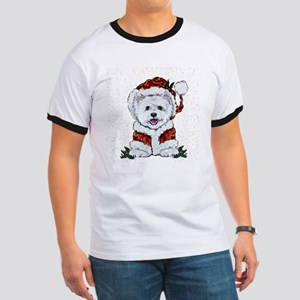 Santas Westie Helper T-Shirt