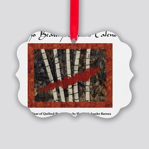 Idaho Beauty Quilted Birches Picture Ornament