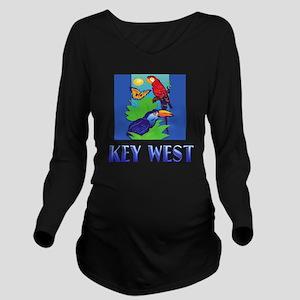 Macaw, Parrot, Butte Long Sleeve Maternity T-Shirt