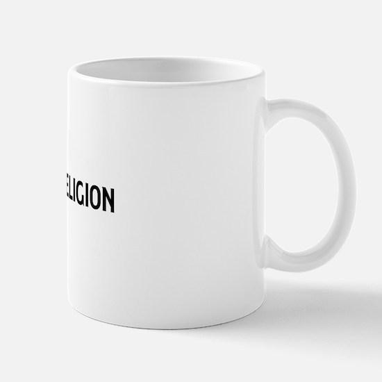 ANTHROPOLOGY OF RELIGION teac Mug