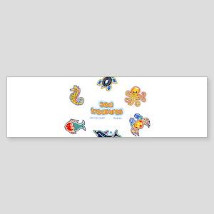 Sea treasures Bumper Sticker