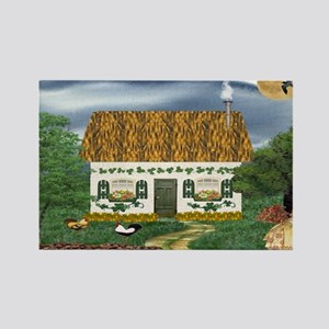 Storm Cottage Rectangle Magnet