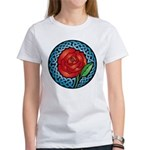 Celtic Rose Stained Glass Women's T-Shirt