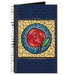 Celtic Rose Stained Glass Journal