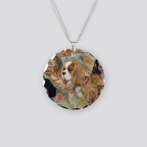 Cavalier King Charles Spanie Necklace Circle Charm