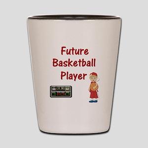 5a9b37392178 Future Basketball Player Shot Glasses - CafePress