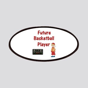 Basketball Player (red) Patches