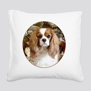 Cavalier King Charles Spaniel Square Canvas Pillow