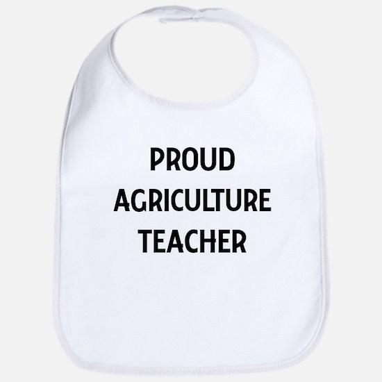 AGRICULTURE teacher Bib