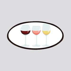 Wine Glasses Patches