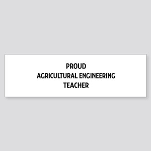 AGRICULTURAL ENGINEERING teac Bumper Sticker