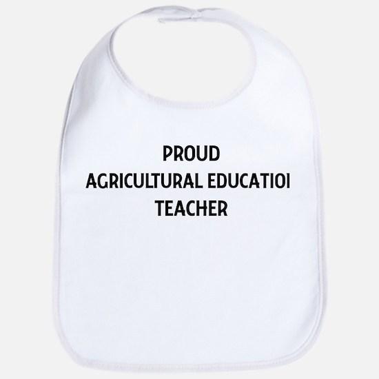 AGRICULTURAL EDUCATION teache Bib