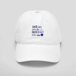 Nurse, Save Baseball Cap