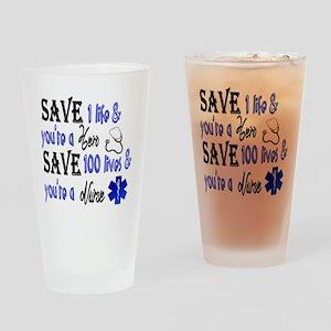 Nurse, Save Drinking Glass