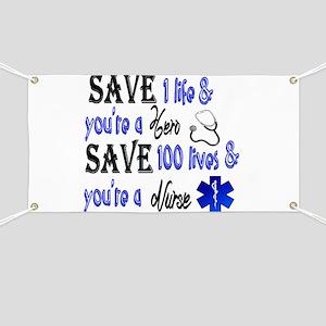 Nurse, Save Banner