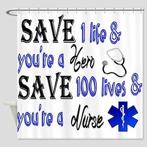 Nurse, Save Shower Curtain