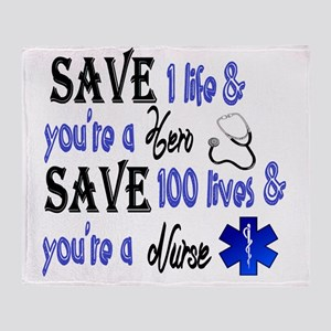 Nurse, Save Throw Blanket