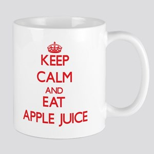 Keep calm and eat Apple Juice Mugs