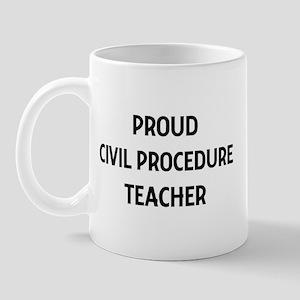 CIVIL PROCEDURE teacher Mug