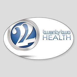 22 Health Sticker (Oval)