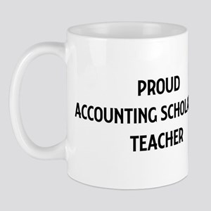 ACCOUNTING SCHOLARSHIP teache Mug
