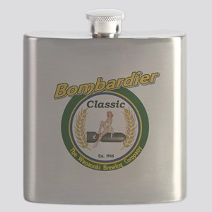 Bombardier Classic Beer Flask