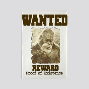 wanted sasquatch  Rectangle Magnet