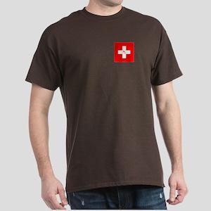 Team Bobsled Switzerland Dark T-Shirt