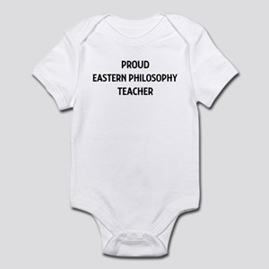 EASTERN PHILOSOPHY teacher Infant Bodysuit