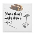 Toast Quotation Tile Coaster