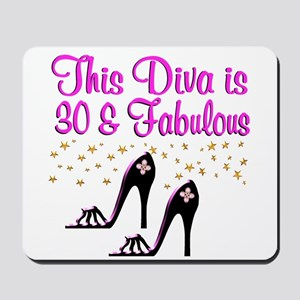 SPARKLING 30TH Mousepad