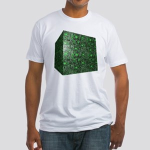Borg Cube Fitted T-Shirt
