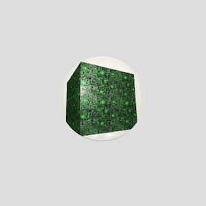 Borg Cube Mini Button