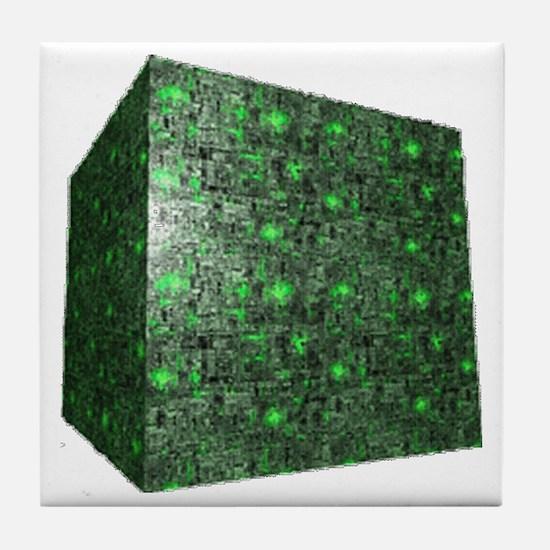 Borg Cube Tile Coaster